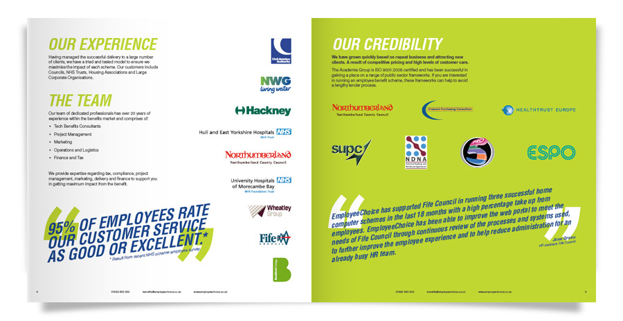 EmployeeChoice Brochure Spread 2